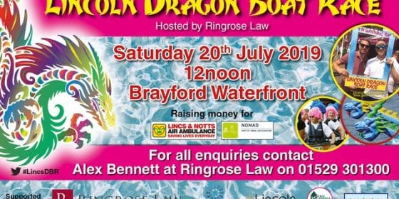 2019 Lincoln Dragon Boat Race 2019