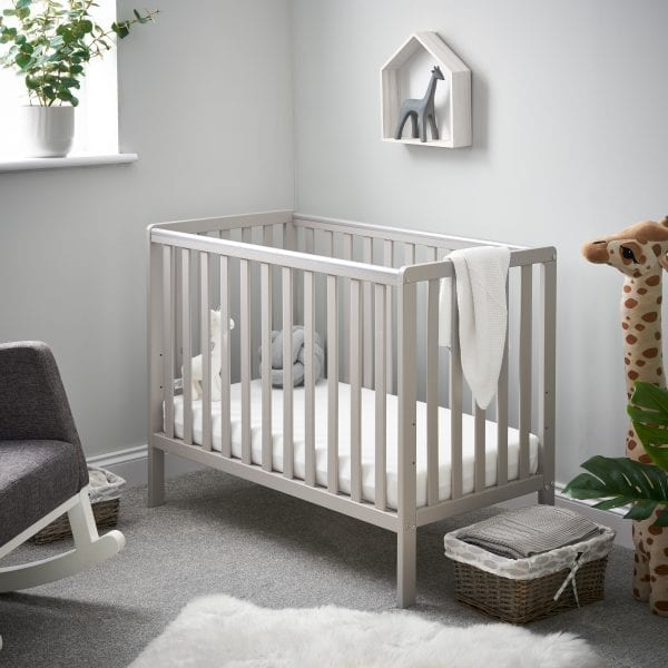 Bantam Space Saver Cot Warm Grey