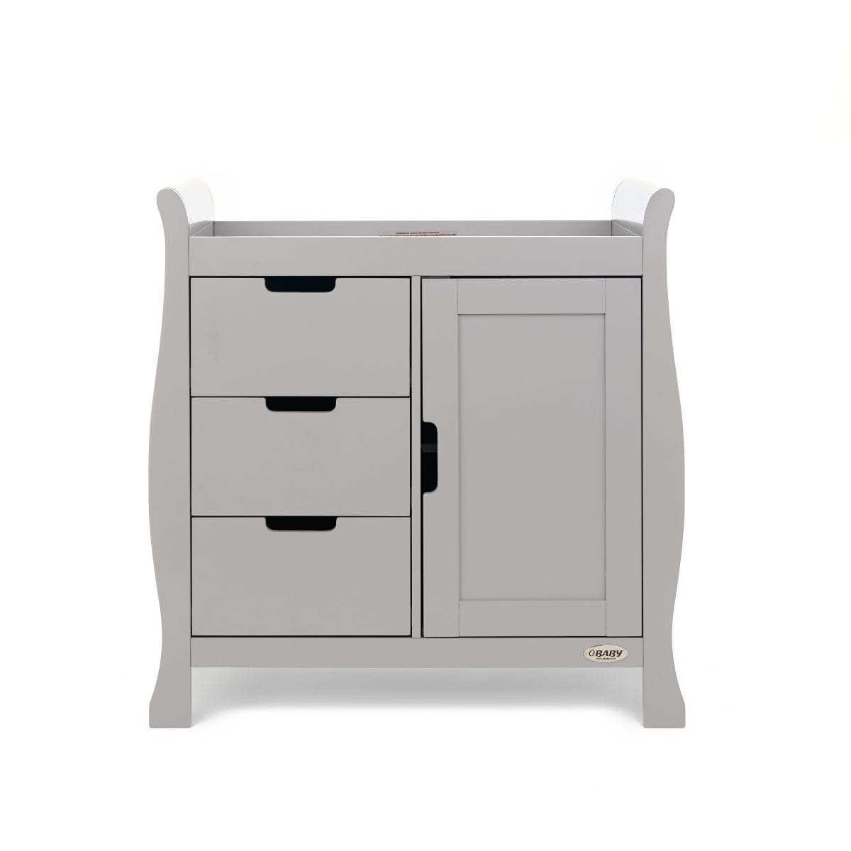 Stamford Changing Unit - Warm Grey