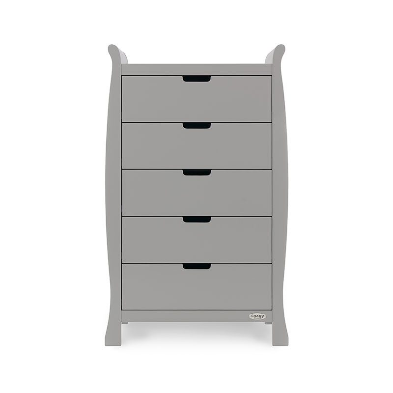 Stamford Tall Drawers - Warm Grey