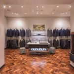 Business and parquet flooring